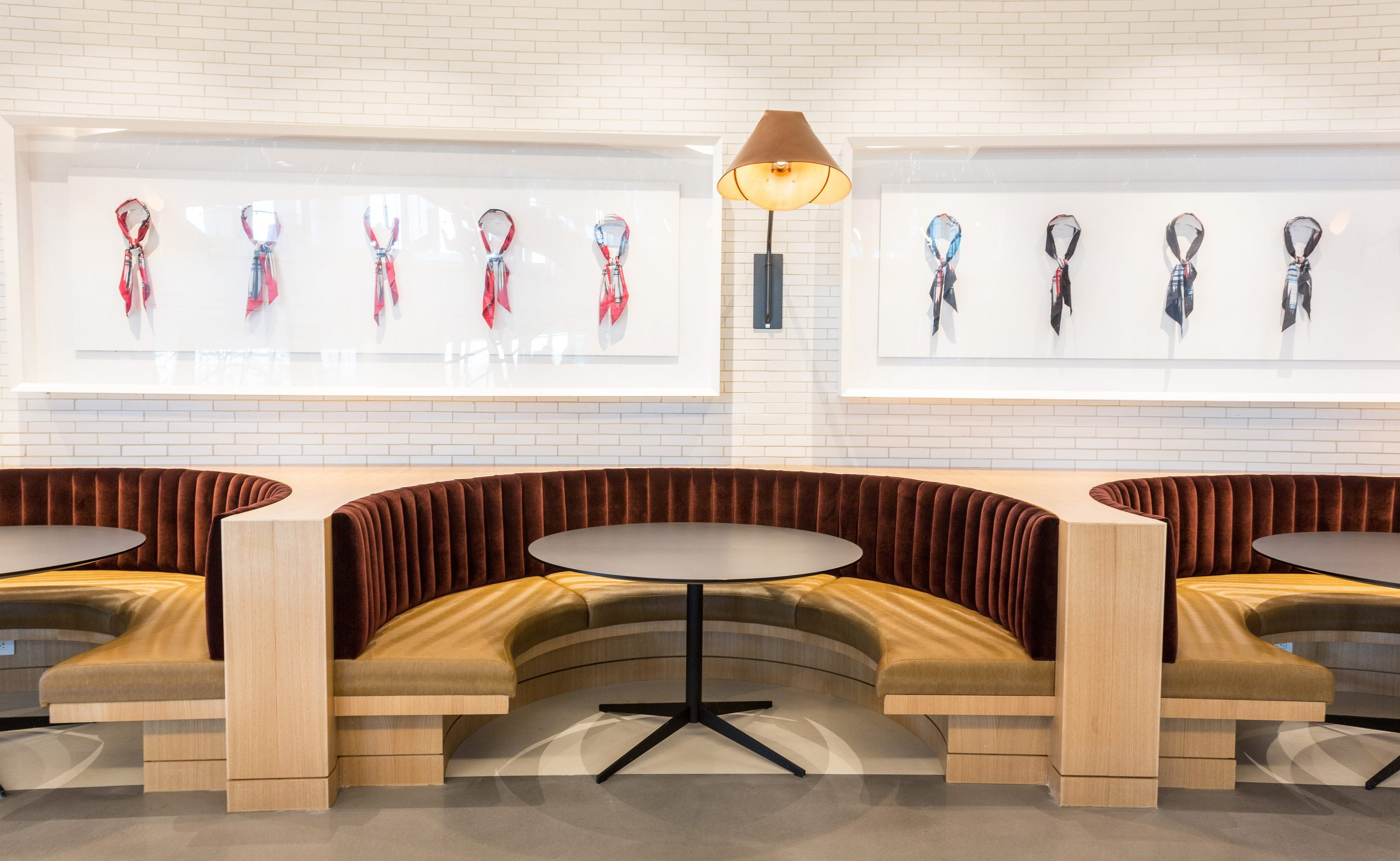 American Airlines Banquette